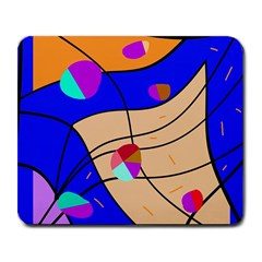 Decorative abstract art Large Mousepads