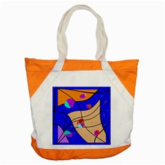 Decorative abstract art Accent Tote Bag