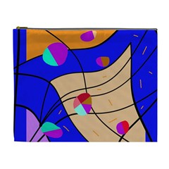 Decorative abstract art Cosmetic Bag (XL)