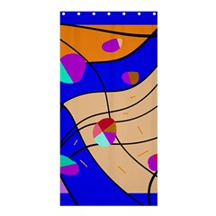 Decorative abstract art Shower Curtain 36  x 72  (Stall)