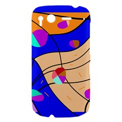 Decorative abstract art HTC Desire S Hardshell Case