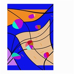 Decorative abstract art Small Garden Flag (Two Sides)