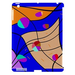 Decorative abstract art Apple iPad 3/4 Hardshell Case (Compatible with Smart Cover)