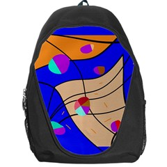 Decorative abstract art Backpack Bag