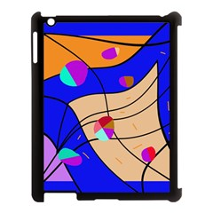 Decorative abstract art Apple iPad 3/4 Case (Black)