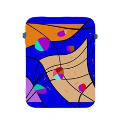 Decorative abstract art Apple iPad 2/3/4 Protective Soft Cases