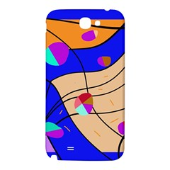 Decorative abstract art Samsung Note 2 N7100 Hardshell Back Case