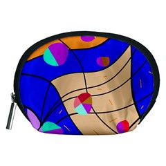 Decorative abstract art Accessory Pouches (Medium)