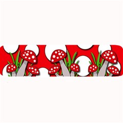 Mushrooms pattern Large Bar Mats