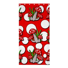 Mushrooms pattern Shower Curtain 36  x 72  (Stall)