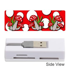 Mushrooms Pattern Memory Card Reader (stick)