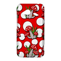 Mushrooms pattern HTC Droid Incredible 4G LTE Hardshell Case