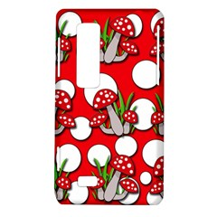 Mushrooms pattern LG Optimus Thrill 4G P925