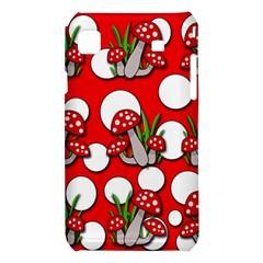 Mushrooms pattern Samsung Galaxy S i9008 Hardshell Case