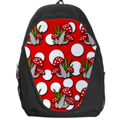 Mushrooms pattern Backpack Bag
