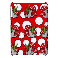 Mushrooms pattern Apple iPad Mini Hardshell Case