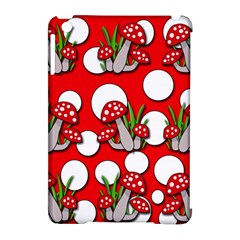 Mushrooms pattern Apple iPad Mini Hardshell Case (Compatible with Smart Cover)