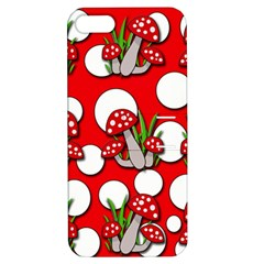 Mushrooms pattern Apple iPhone 5 Hardshell Case with Stand