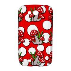 Mushrooms pattern Samsung Galaxy Grand GT-I9128 Hardshell Case