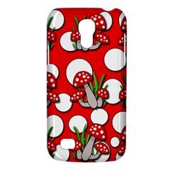 Mushrooms pattern Galaxy S4 Mini