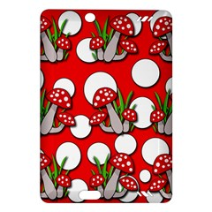 Mushrooms pattern Amazon Kindle Fire HD (2013) Hardshell Case
