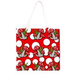 Mushrooms pattern Grocery Light Tote Bag