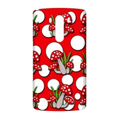 Mushrooms pattern LG G3 Back Case