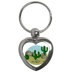 Desert Key Chains (Heart)