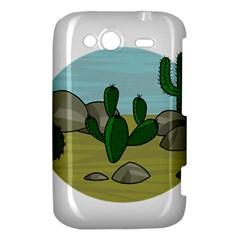 Desert HTC Wildfire S A510e Hardshell Case