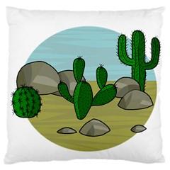 Desert Large Cushion Case (One Side)