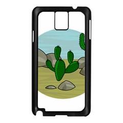 Desert Samsung Galaxy Note 3 N9005 Case (Black)