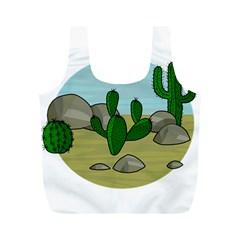 Desert Full Print Recycle Bags (M)