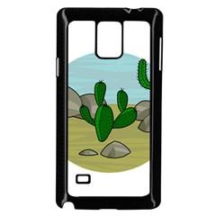 Desert Samsung Galaxy Note 4 Case (Black)