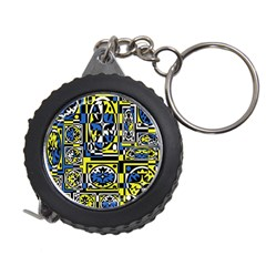 Blue and yellow decor Measuring Tapes