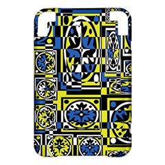 Blue and yellow decor Kindle 3 Keyboard 3G