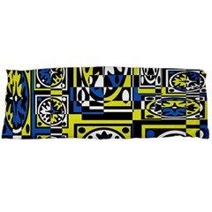 Blue and yellow decor Body Pillow Case Dakimakura (Two Sides)
