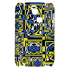 Blue and yellow decor Samsung S3350 Hardshell Case