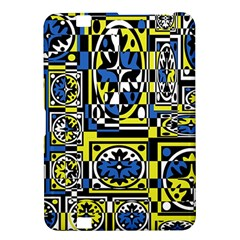 Blue and yellow decor Kindle Fire HD 8.9