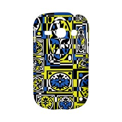 Blue and yellow decor Samsung Galaxy S6810 Hardshell Case