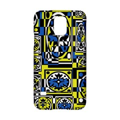 Blue and yellow decor Samsung Galaxy S5 Hardshell Case