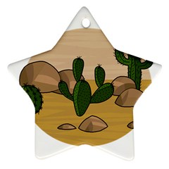 Desert 2 Ornament (Star)