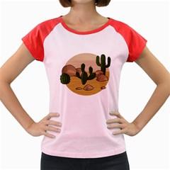 Desert 2 Women s Cap Sleeve T-Shirt
