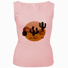 Desert 2 Women s Pink Tank Top