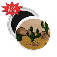 Desert 2 2.25  Magnets (100 pack)