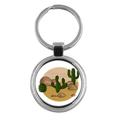 Desert 2 Key Chains (Round)