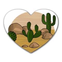 Desert 2 Heart Mousepads