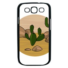 Desert 2 Samsung Galaxy S III Case (Black)