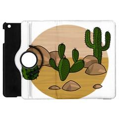 Desert 2 Apple iPad Mini Flip 360 Case