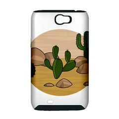 Desert 2 Samsung Galaxy Note 2 Hardshell Case (PC+Silicone)