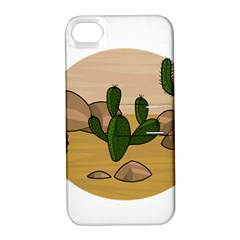 Desert 2 Apple iPhone 4/4S Hardshell Case with Stand